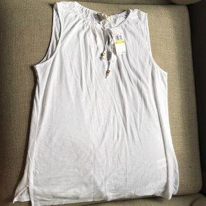 NWT Michael Kors Tank Top White Size M